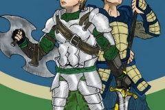 Nakuso and Friend Unfinished Comic