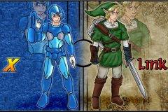 Megaman Link Fanart for friend