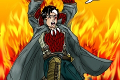 Unfinished Phoenix Inferno Comic Page 2