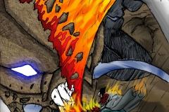 Unfinished Phoenix Inferno Comic Page 3
